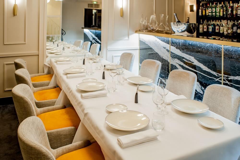Restaurant Paris 8 Salon privé
