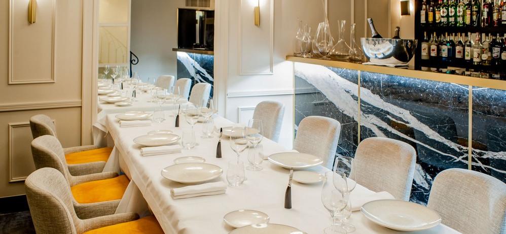 restaurant salle privée Champs Elysées