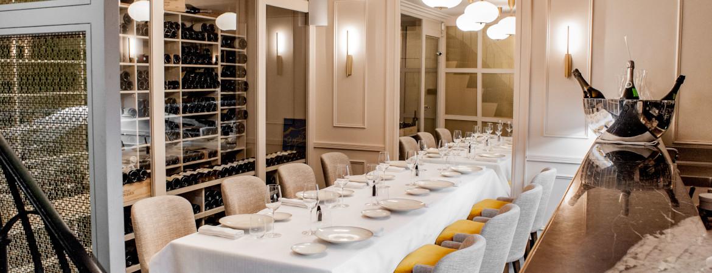 Restaurant avec salon privé Paris 8