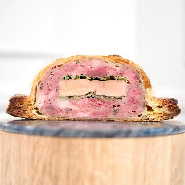 Tourte de gibiers à plumes de Sologne et foie gras